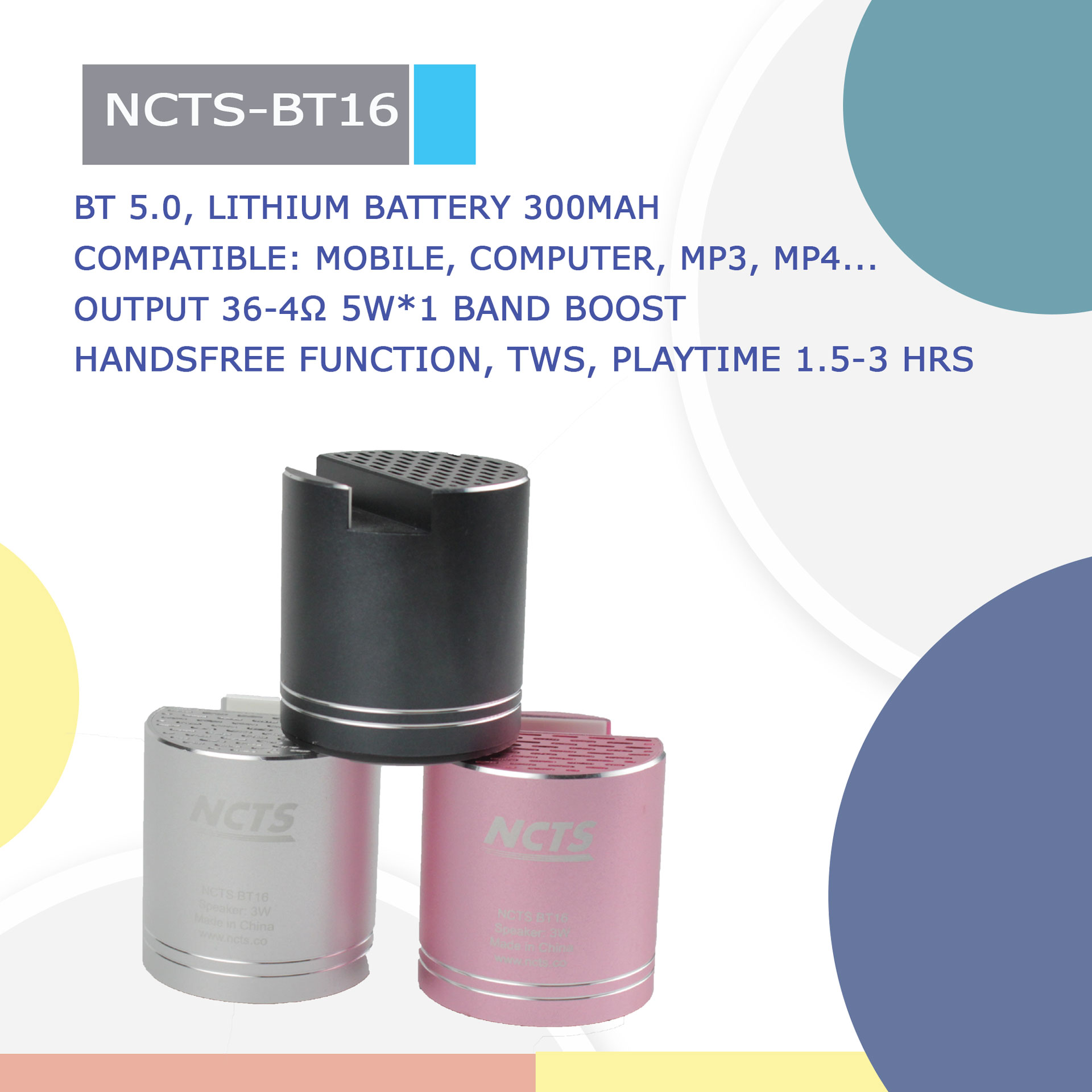 NCTS-BT16