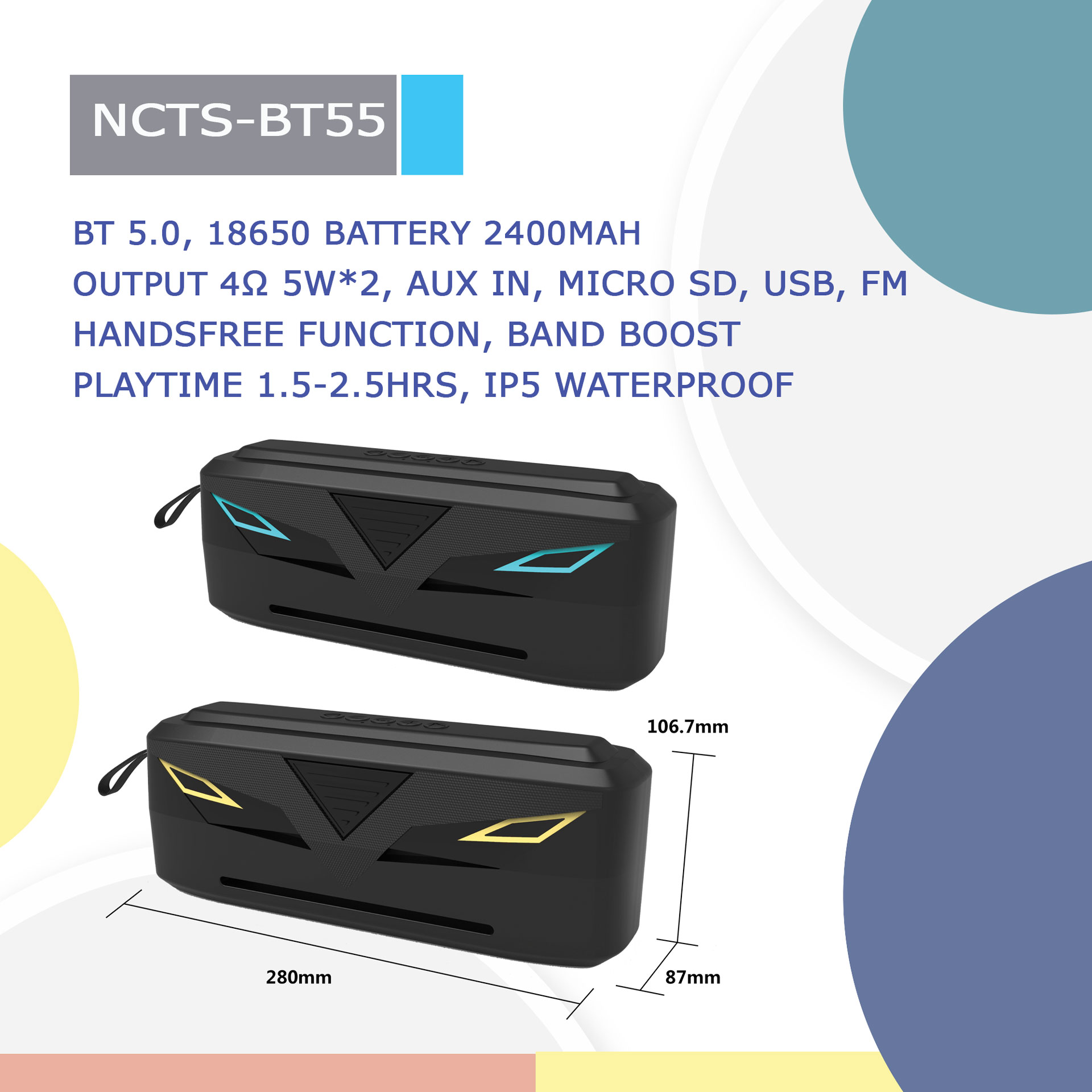 NCTS-BT55