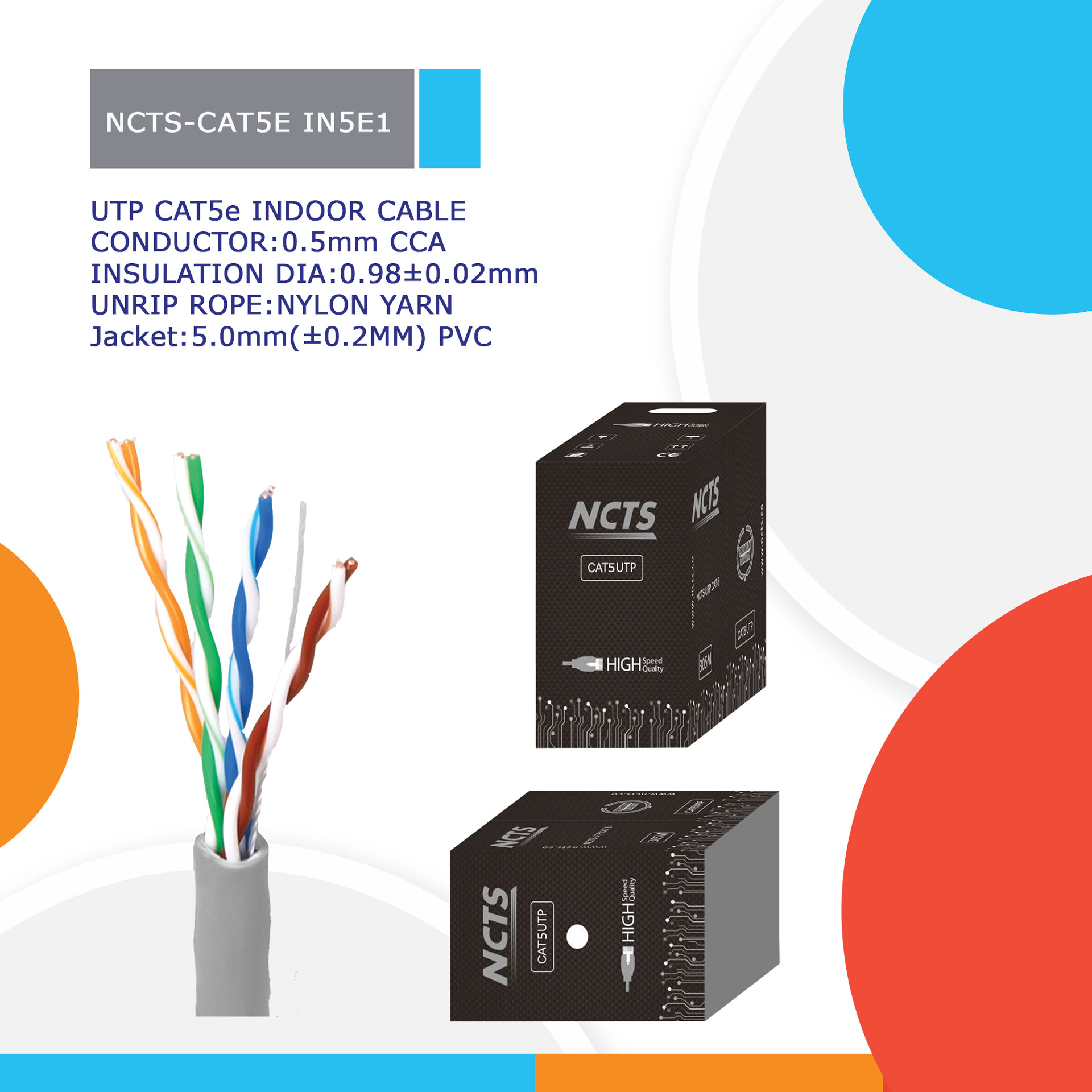NCTS-CAT5E IN5E1