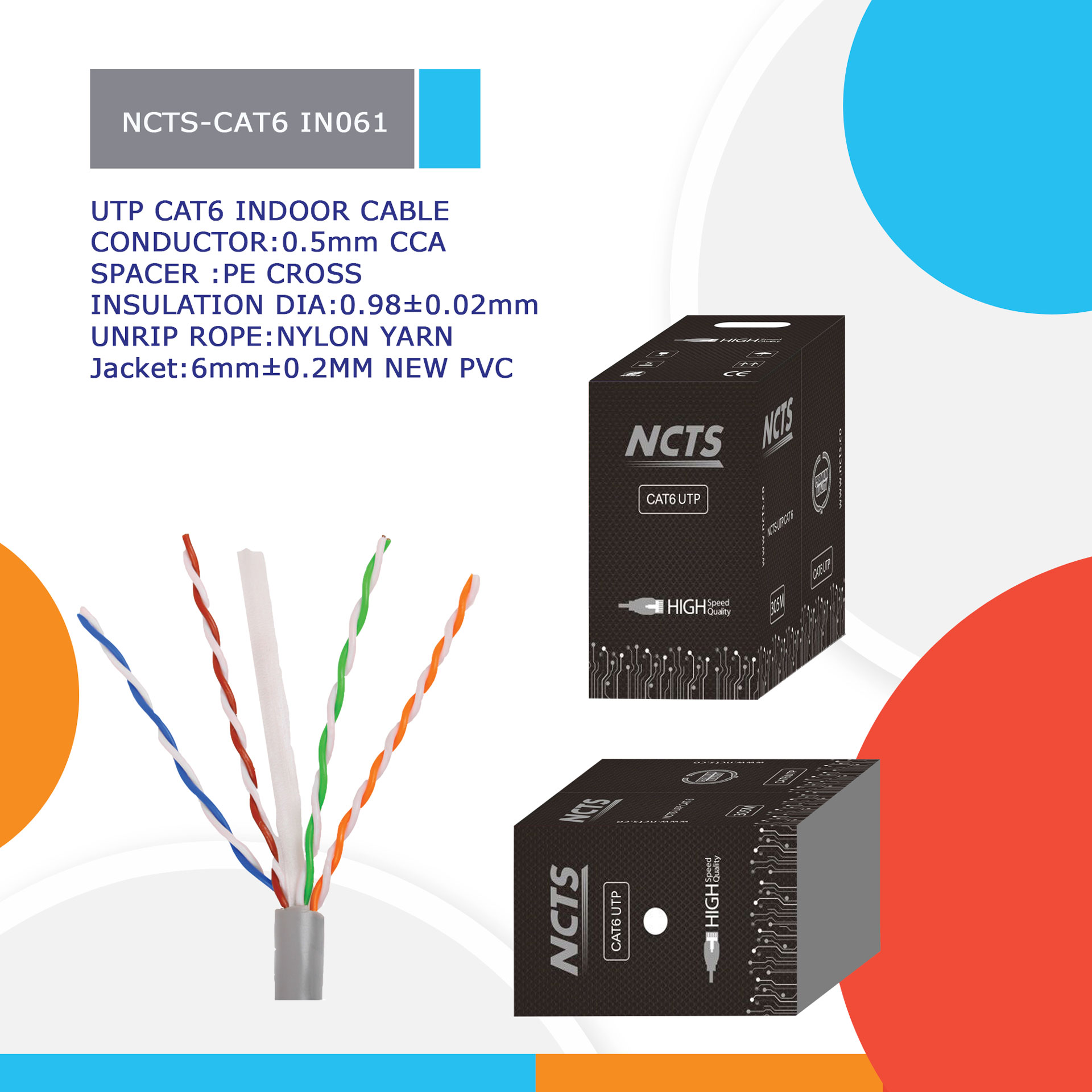 NCTS-CAT6 IN061
