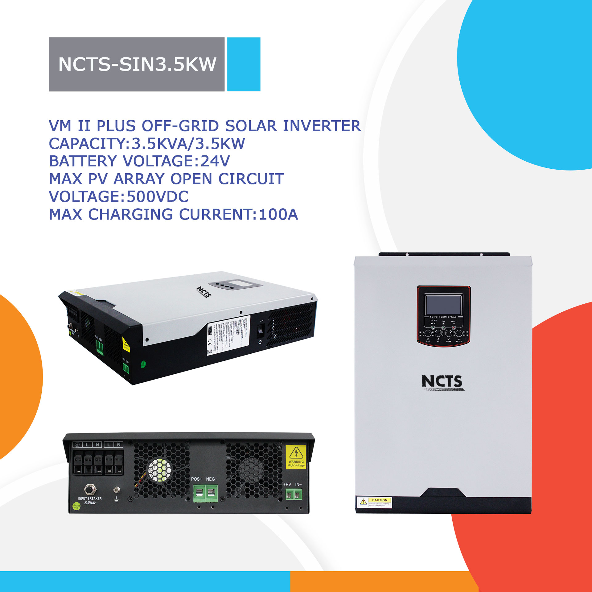 NCTS-SIN3.5KW